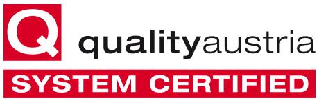 Quality Austria logo.